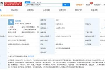 李佳琦新公司叫人间唢呐经营范围均包括广告发布电子商务等